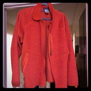 Patagonia men's jacket size extra-large orange